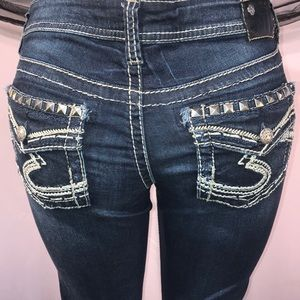 Silver denim jeans Size 29 💗